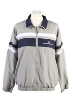 Vintage Sergio Tacchini Womens Zip Up Tracksuit Top Lined Size XL Multi - SW2470