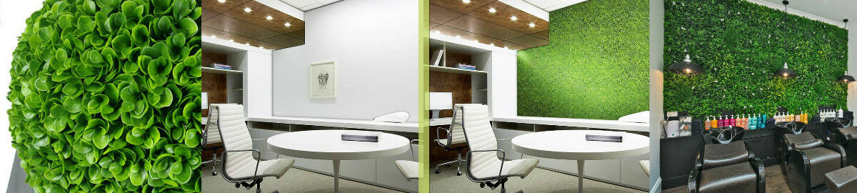 Designer Vertical Gardens & Plants
