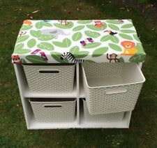 Childrens toy box and seat.