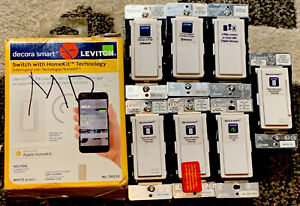 Lot Of 8 Leviton Decora Smart Switches - Bluetooth