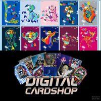 Topps Disney Collect Card Trader Color Splash Motion Series 1 Set of 9