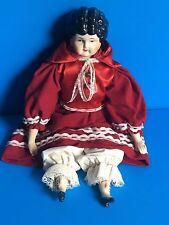 Doll Victorian Style Vintage #5 Huston Studio Kit? 1950's Japan Good Condition