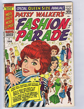 Patsy Walker's Fashion Queen Size Annual #1 Marvel Pub 1966