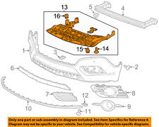 Buick GM OEM 13-16 Encore Front Bumper-Splash Shield 94550786
