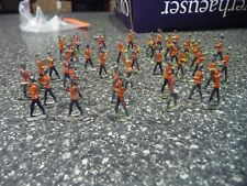 41 wollner German toy gun Flat Pressed Lead Marching Band figures Rare vintage