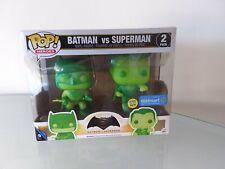 FUNKO POP BATMAN VS SUPERMAN GLOW IN THE DARK 2 PACK