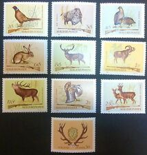 HUNGARY-WĘGRY-MAGYAR STAMPS MNH - Hunting, 1964, clean