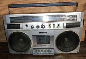 Sanyo M9830K Portable Stereo Radio Cassette Boombox Made In Japan - Parts/Repair