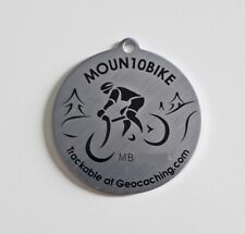 Moun10bike personal Tag - not a geocoin (Activated and adoptable)