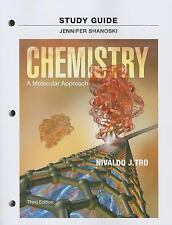 Study Guide for Chemistry: A Molecular Approach by Nivaldo J. Tro Paperback Book