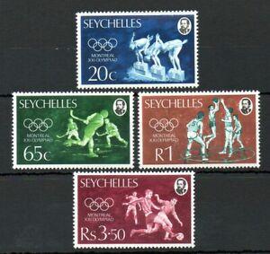 Seychelles 1976 Montreal Olympics MNH set S.G. 365-368