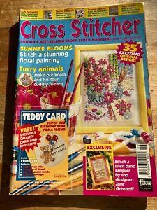 CROSS STITCHER CROSS STITCH MAGAZINE ISSUE 47 SEPTEMBER 96