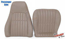 1997-2002 Chevy Camaro SS RS Z28-PASSENGER Side COMPLETE Leather Seat Covers Tan