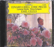 Grieg: Lyric Pieces - Emil Gilels (CD) (1974)