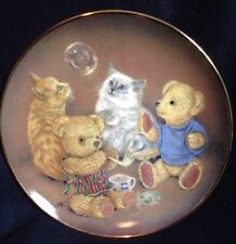 Franklin Mint Heirloom Bubble Buddies Plate Limited Edition Sue Willis