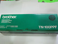 Brother Toner Cartridge TN 100PPF Genuine Brother Toner Cartridge