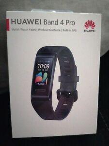Huawei Band 4 Pro GPS Heart Rate Fitness Smartwatch - Black BNIB