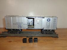 LIONEL O GAUGE # 3454 PENNSYLVANIA AUTOMATIC MERCHANDISE CAR & 3 BOXES