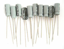 10uF 35V Radial Lead Electrolytic Capacitors: Small Size: 10/Pack: Great Price