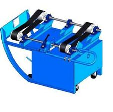 NEW! Portable Drum Roller 2 Belts - 20 RPM - 1-Phase 115 Motor!!