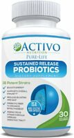 A Ultimate Probiotic Supplement W/ Patented Time Release Pearls 15x More