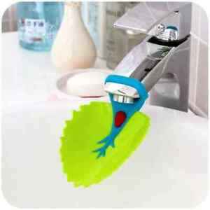 Kids Sink Shower Faucet Extender Extension Children Toddler Hand Washing UK