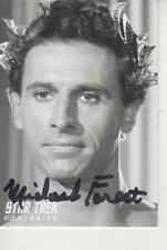 "MICHAEL FOREST SIGNED 2008 ""STAR TREK"" PORTRAITS #PT34 - APOLLO"
