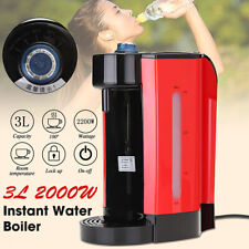 3L 2200W Instant Electric Hot Water Dispenser Coffee Tea Maker Boiling