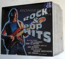 VARIOUS ARTISTS - ROCK & POP HITS - BOX 10 CD Sigillato