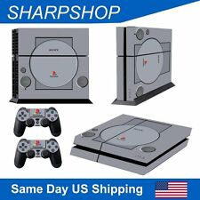 Vinyl Decal Cover Sticker for Playstation 4 Console & 2 Controller PS4 Set Skin