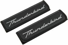 Leather Car Seat Belt Shoulder Pads Covers Cushion For Ford Thunderbird 2 pcs