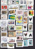 Frankreich ... EURO ... Kiloware auf Papier .... 4 Bilder ... Gestempelt
