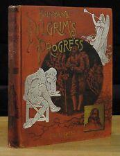 The Pilgrim's Progress (1890) John Bunyan, Frederick Barnard, Altemus Edition