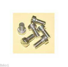 Marvy Barber Pole TOP DOME AND BOTTOM BOWL 6-STAINLESS SCREWS