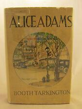 Booth Tarkington Alice Adams 1921 First Edition First Issue Pulitzer Rare DJ