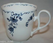 Noritake Japan Primachina  8709 White Blue Coffee Tea Mug Cup Floral