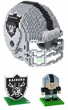 Forever Collectibles 3d Brxlz Mini Helmet Oakland Raiders
