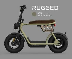 CooPop Rugged Trendy Urban Electric Motorbike Scooter Moped Motorcycle