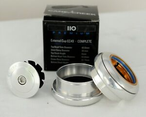 "Cane Creek 110-Series Headset, EC49/38.1|EC49/40, Silver, 1.5"""