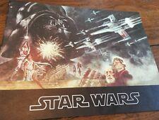 STAR WARS MOVIE PROGRAM 1977 ORIGINAL TEXTURED COVER