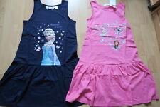 H&M Eiskönigin Frozen 2 Set Sommer Kleid Rosa und  Blau Gr. 134 140 Neu