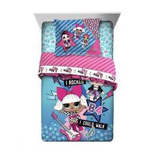 L.O.L. Surprise! 2 Piece Comforter Set w/ Reversible Comforter. Twin//Full Size.