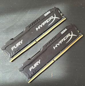 Kingston HyperX 16GB (2x 8GB) DDR4-2666 Memory (HX426C15FBK2/16)