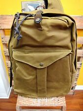 FILSON Journeyman Backpack Tan New Made in USA