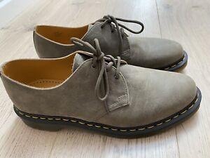 Dr Martens 1461 3 Eye Olive Dusky Size UK 11 Shoes