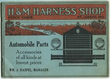 H. & M. Harness Shop: Automobile Parts, Accessories of All Kinds at Lowest Price