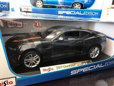 **SALE** Maisto 1:18 Scale Diecast Model- 2017 Chevrolet Camaro Fifty (Gray)