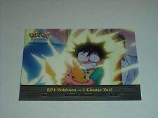 EP1 Pokemon I Choose You - 2000 Topps Pokemon Series 2 Episode Card