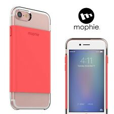 Mophie iPhone 7 / 8 Base Case Protective Cover Hold Force Coral