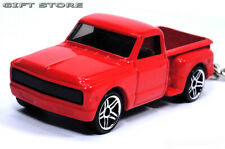 KEY CHAIN RED CHEVY/GMC CHEVROLET C10 20 C/K STEPSIDE PICKUP CUSTOM GM TRUCK NEW